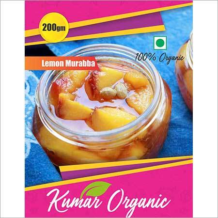Kumar Organic  Lemon Murabba