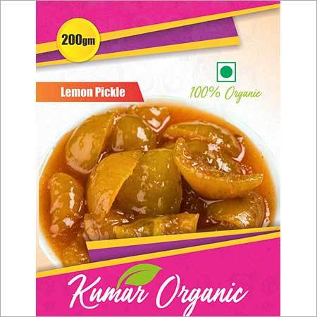 Kumar Organic  Lemon Pickle