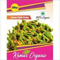 Kumar Organic Green Chilli Pickel