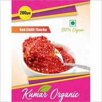 Kumar Organic Red Chilli Thecha