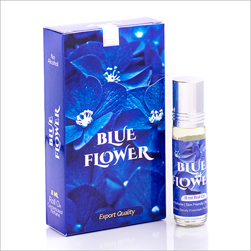 Blue Flower Attar Concentrated Perfume