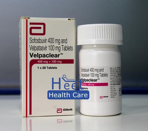 Velpaclear Velpatasvir 100mg Sofosbuvir 400mg Tablets