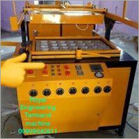 Thermocol Plate Machine