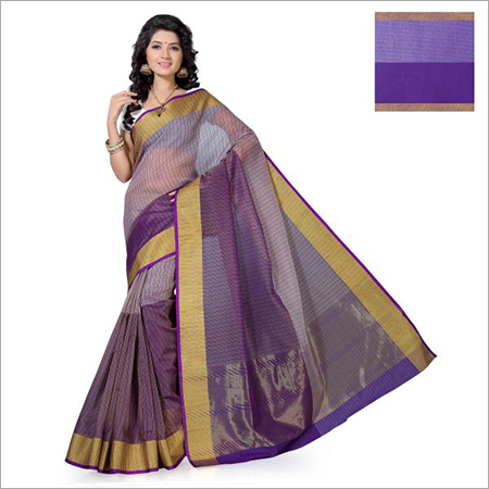 Aura Poly Cotton Sarees