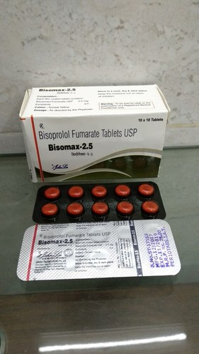 Bisoprolol Fumarate Usp 2.5 Mg