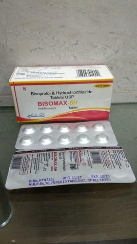 Bisoprolol Fumarate Usp 5 Mg Usp + Hydrochlorthiazide Ip 6.25 Mg