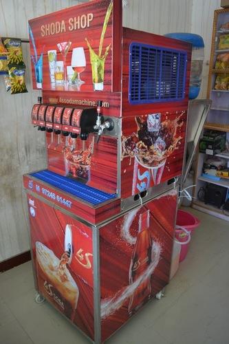 6+ star soda machine
