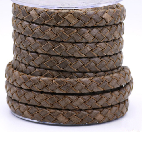 Leather Braided Cords