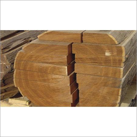 Sagwan Wood Log