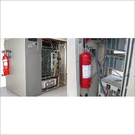 Fire Suppression System For Cloud Servers
