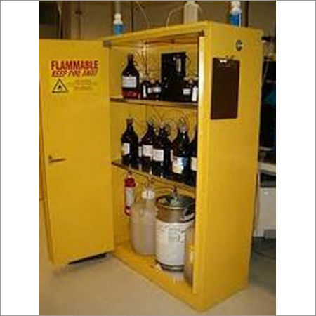 Fire Suppression System For Hazardous Cabinets