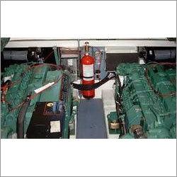 Fire Suppression For Power Generators