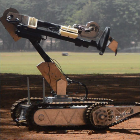 Surveillance Robot For All Terrain