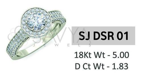 Diamond Solitaire Ladies Ring