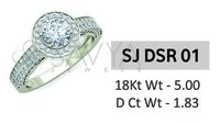 Diamond Solitaire Ladies Ring