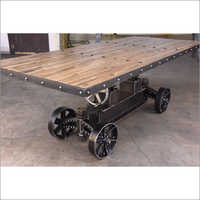Iron Coffee Cart