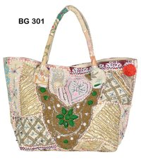 Vintage Banjara Fabric Tote Bag
