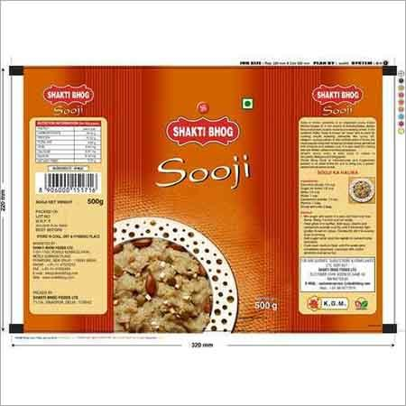 Sooji Packaging Pouch