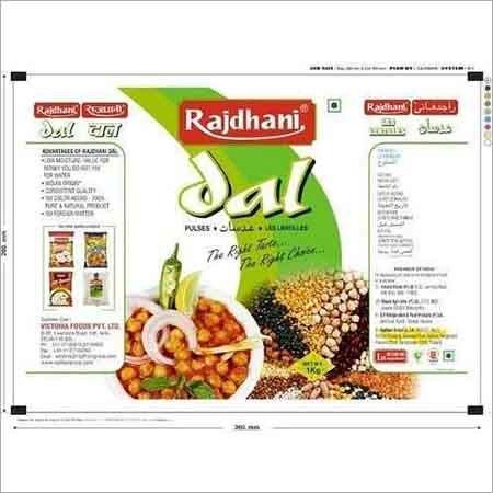 Dal Food Packaging Bag
