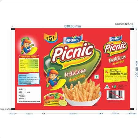 Picnic Packaging Flexible Pouches