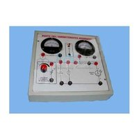 Photo Cell Characteristics Apparatus