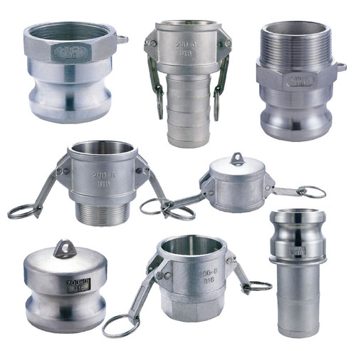 Aluminum Camlock Couplings For Loading Unloading Tankers