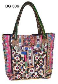 Vintage Banjara Fabric Tote Bag