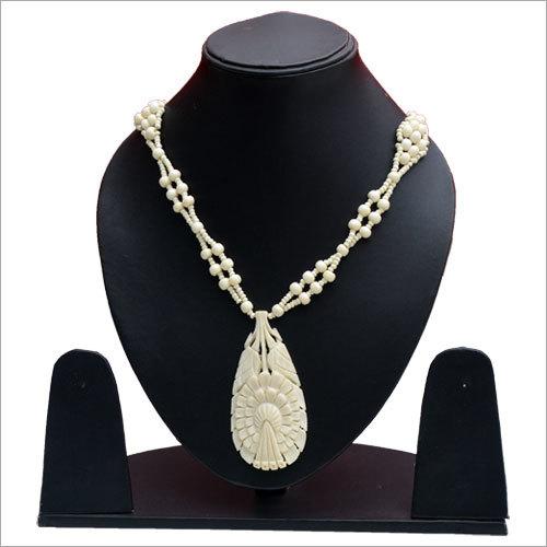 Bone Beaded Necklaces