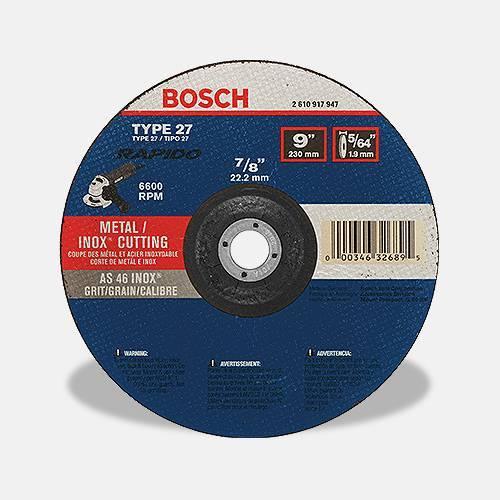 BOSCH Metal Cutting Wheel