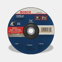 BOSCH Metal Cutting Wheel