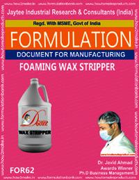Foaming Wax Stripper
