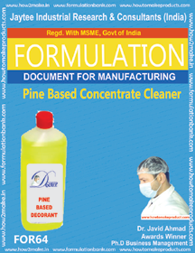 White Phenyl Making Formulations