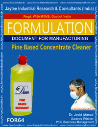 Pine Based Concentrate Cleaner