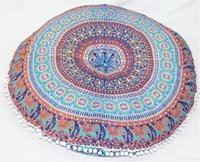 Decorative Floor Cushion Cover