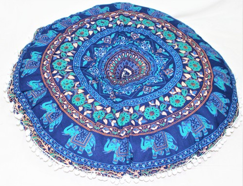 Cotton Mandala Floor Cushion Cover