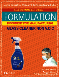 Glass Cleaner Non VOC