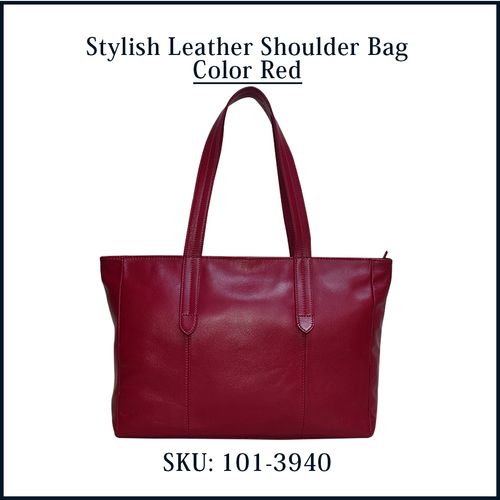 Stylish Leather Shoulder Bag