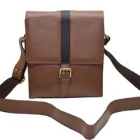 Leather Office Sling Bag