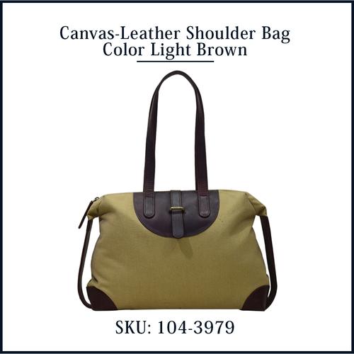 Cotton Canvas Shoulder Shopping office Bag