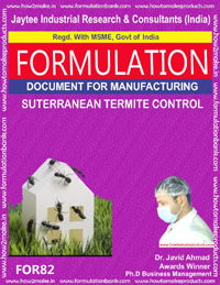 Miscellaneous Product Manufacturing Formulations