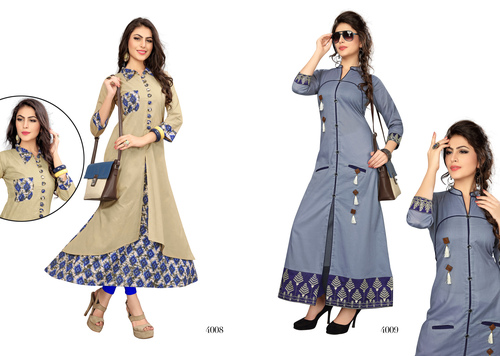 Fancy Cotton Kurti Suppliers