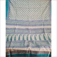 Acid Print Tasar Saree
