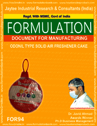 Odonil Type Solid Air Freshener Cake