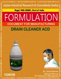 Drain Cleaner ACD