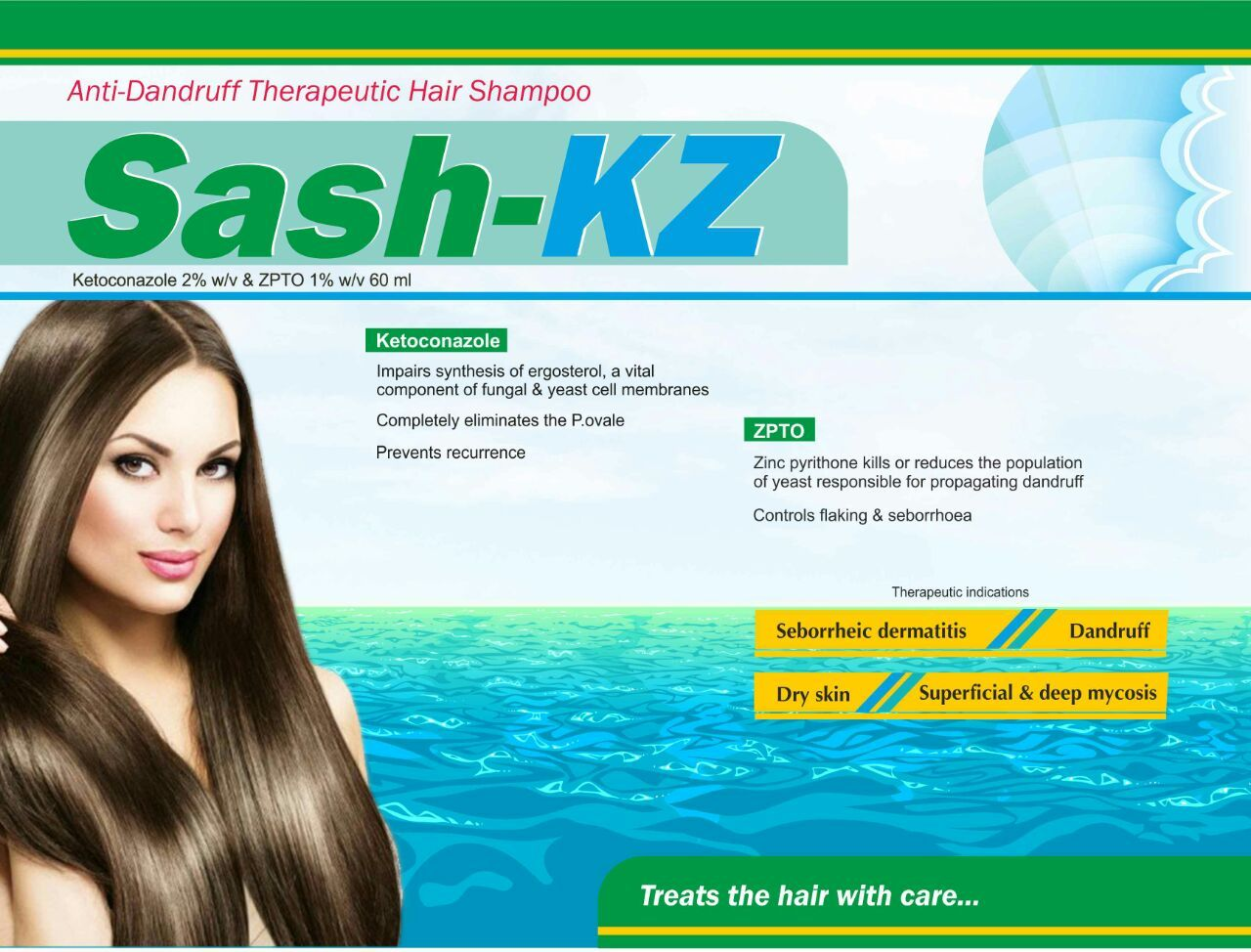 Ketoconazole + ZPTO Shampoo