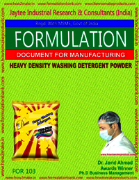 HEAVY DENSITY DETERGENT POWDER