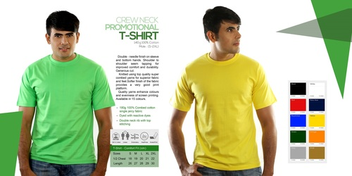 Round Neck Promotional T-Shirts