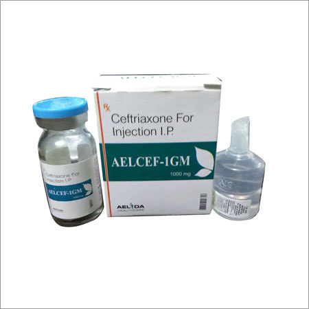 Ceftriaxone 1gm injection