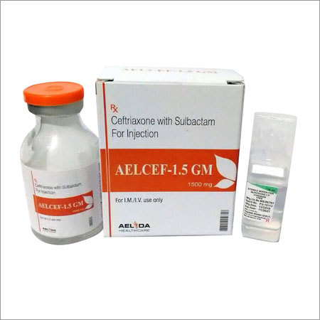 Ceftriaxone  Sulbactam  injection