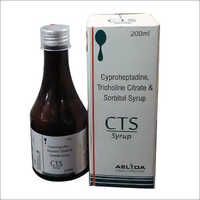 Cyproheptadine Tricholine citrate syrup